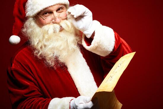 Tin Can Santa Claus