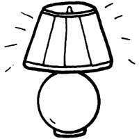 Lamp Shade Color Pages