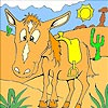 Thumbnail image for Horse in the Desert Coloring