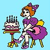Thumbnail image for Birthday Girl Coloring