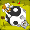 Yin Yang Puppy and Kitty Coloring