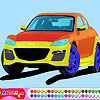 Thumbnail image for Sleek Sports Car Coloring