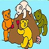Thumbnail image for Four Bears on a Beach Coloring