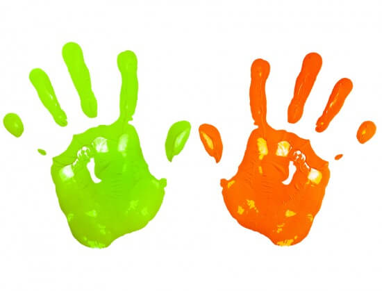 Crafts Using Handprints And Footprints