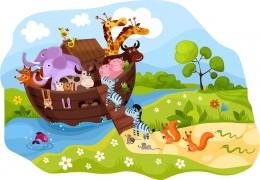 Noah's Ark: Paper Crafts