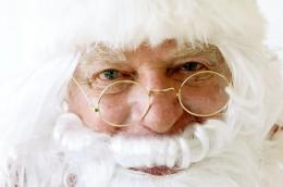 Santa Claus Clay Pot