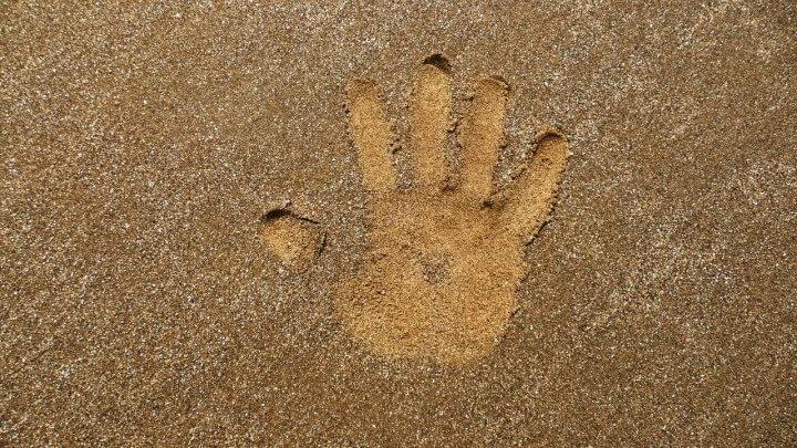 Handprint Mold