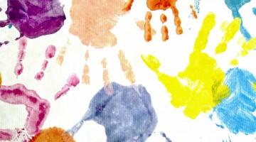 Handprint Animals for Spring