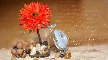 Elegant Decoupage Jar