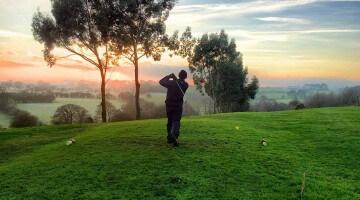 Golfing Dad's Memo Board