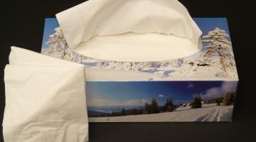 Tissue Box Mosaic