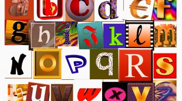 Create an Alphabet Collage in 5 Easy Steps!