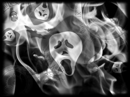 Card Board Ghost