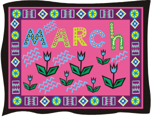Welcome to March!