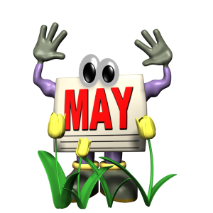 Welcome to May!