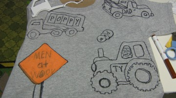 Homemade Father's Day Gifts: Dad's Tee Shirt or a Puzzle
