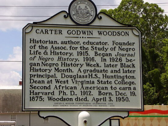Carter Woodson is the father of Black History Month.