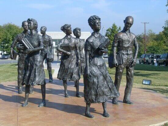Little Rock Nine.  Photo by Cliff http://www.flickr.com/photos/nostri-imago/with/2841227269/