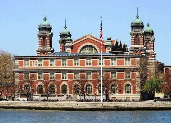 Ellis Island today.