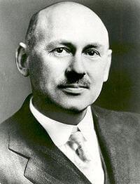Robert Goddard, scientist and inventor.