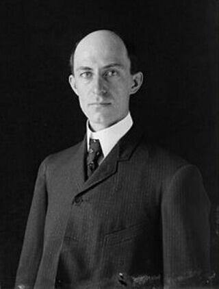 Wilbur Wright, co-creator of the plane.