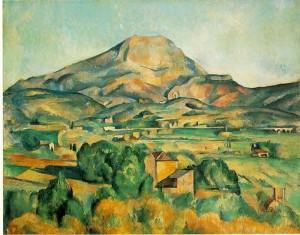 La Montagne Sainte-Victoire by  Paul Cézanne (1839–1906)