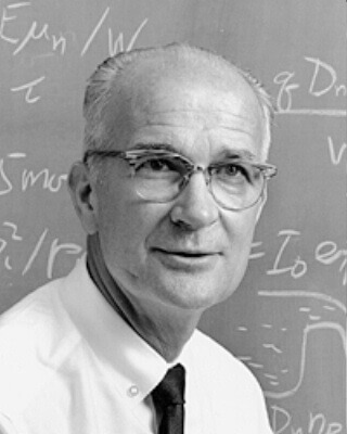 William Shockley, controversial inventor.