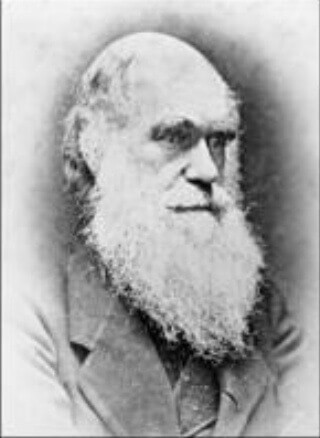 Charles Darwin, author and naturalist.