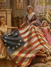 Did Betsy Ross make the 1st flag?