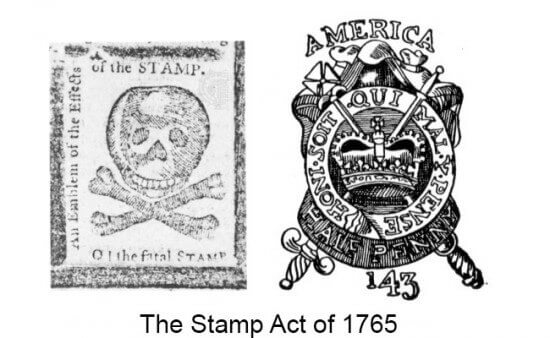 10 Facts About the Stamp Act of 1765