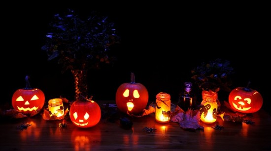 Spooky Pumpkins or Luminaries