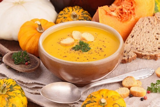 """Maggoty"" Pumpkin Soup"