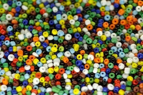 Halloween Bead Necklace Craft