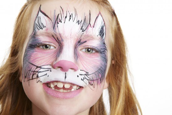More Halloween Make Up Instructions