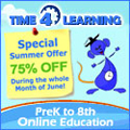 75% off Time 4 Learning
