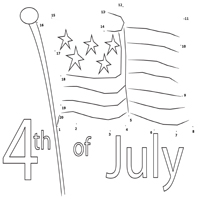 Thumbnail image for Old Glory Dot to Dot 1 – 20