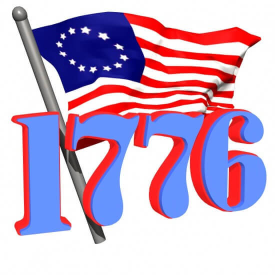 Although we celebrate independence on July 4th, America wasn't granted independence from the King of England  until 1783.