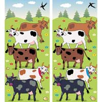 Cow Spot the Differences