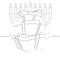Menorah and Presents 1 – 25