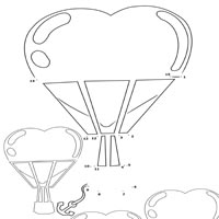 Heart Air Balloons 1 – 15