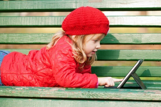 The iPad has built-in parental controls that you should enable.