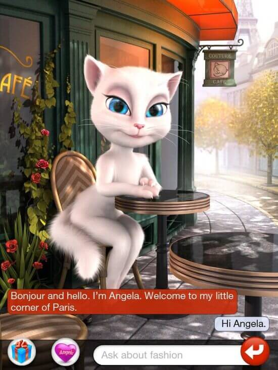 Is the Talking Angela App Safe?