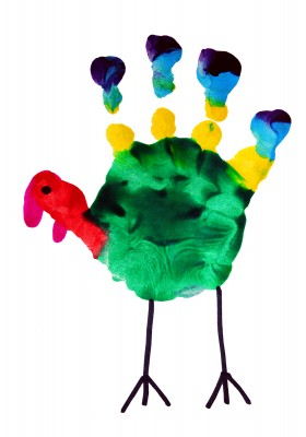 Handprint Turkeys Et Cetera