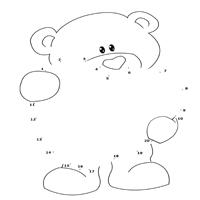 Bearly Resistible Dot to Dot Activity