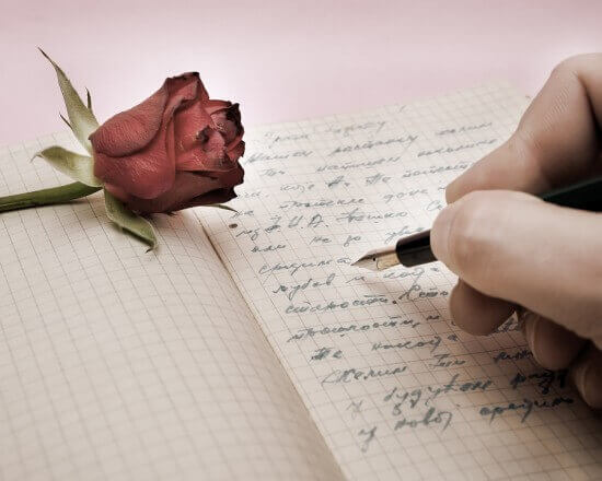 Writing A Letter For The Person You Love