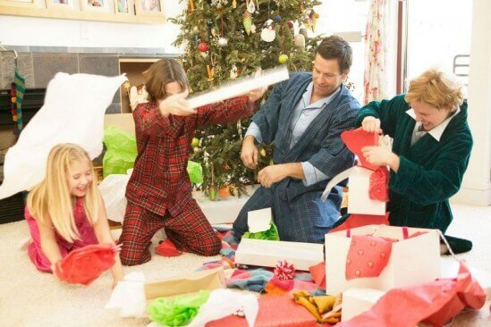 Using Gift Wrap Tissue