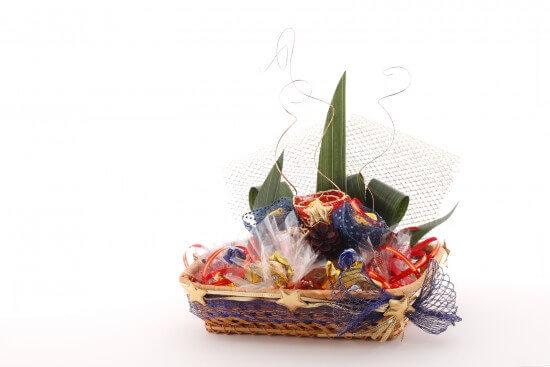 To Whom Do You Send Homemade Gift Baskets?