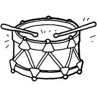 Drum Coloring Page Drum Roll » Coloring Pages » Surfnetkids