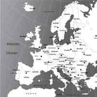 European Nations Map