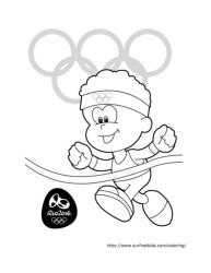 Finish Line Summer Olympics 2016